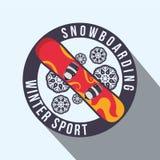 Winter-Sportdesign Stockbilder