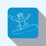 Winter-Sportdesign Lizenzfreies Stockfoto