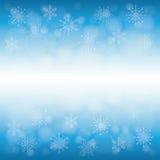Winterschnee oder -schneeflocke Lizenzfreies Stockfoto