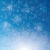 Winterschnee oder -schneeflocke Stockfotografie