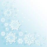 Winterschnee oder -schneeflocke Lizenzfreie Stockfotografie