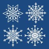 Winterschnee oder -schneeflocke Stockbilder