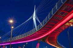 Wire bridge Royalty Free Stock Photography