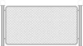 Wire fence Stock Photos