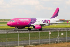 Wizz Air Airbus A320-232 Royalty Free Stock Photography