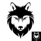 Wolf head logo or icon Royalty Free Stock Photos