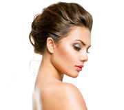 Woman with Clean Fresh Skin Royalty Free Stock Photos
