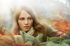 Woman, fashion beauty - desire Stock Photography
