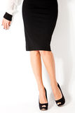 Woman in skirt Stock Image