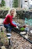 Women gardening Stock Photography