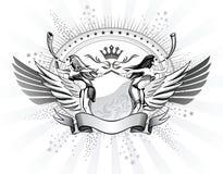 Womens Shield Insignia Stock Photo