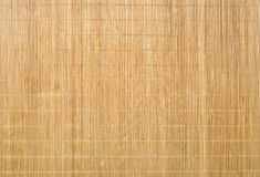 Wood Bamboo Mat Texture Background Royalty Free Stock Image