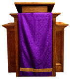 Church Pulpit, Christian Religion, Isolated Stock Photography
