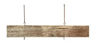 Wood sign board Stock Photo