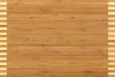 Wood texture bamboo Stock Image