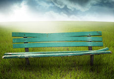 Wooden bench Stock Photography
