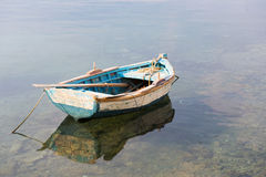Wooden row boat Royalty Free Stock Photography