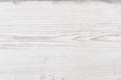 Wood Texture, White Wooden Background, Plank Striped Timber, Grey Desk Royalty Free Stock Photography