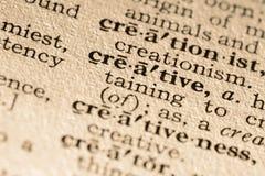 The word creative Stock Image