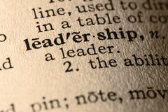 The word leadership Royalty Free Stock Photos