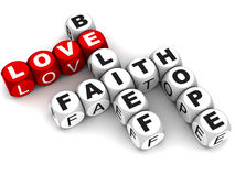Love and faith Stock Images