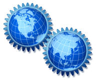 World economy symbol Royalty Free Stock Photography