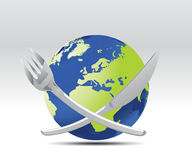 World Meal Stock Photo