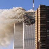 World Trade Center terrorist attack Stock Photos