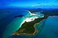 wyspa whitsunday Zdjęcia Royalty Free