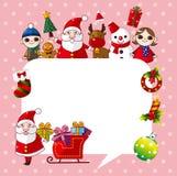 Xmas card Royalty Free Stock Photo