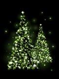 Xmas trees Royalty Free Stock Images