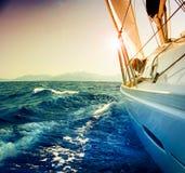 Yacht Sailing Stock Image