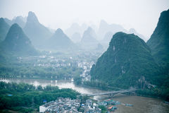 Yangshuo scenery Royalty Free Stock Images