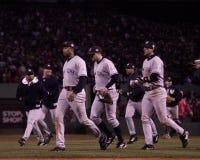 Yankeegewinn Spiel 5 von 2003 ALCS Lizenzfreie Stockfotografie