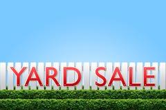 Yard Sale sign Royalty Free Stock Photos
