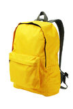 Yellow Backpack Royalty Free Stock Images