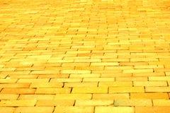 Yellow Brick Road Stock Image