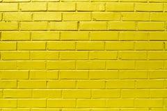 Yellow Brick Wall Stock Photos