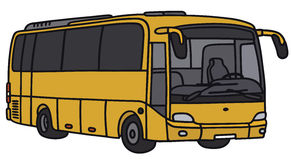 Yellow bus Royalty Free Stock Images