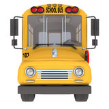 Yellow school bus Royalty Free Stock Image