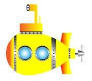 Yellow submarine Stock Photography
