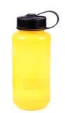Yellow water bottle Stock Photo