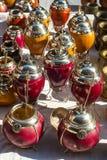Yerba mate cups Stock Photography