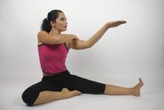 Yoga style Royalty Free Stock Photo