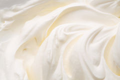 Yogurt swirl Royalty Free Stock Photography