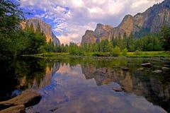 Yosemite Valley View Stock Image
