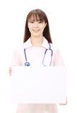 Young asian female nurse Royalty Free Stock Photos