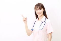 Young asian female nurse Royalty Free Stock Photo