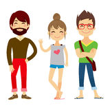 Young Casual People Stock Images