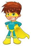 Young superhero. Royalty Free Stock Photos